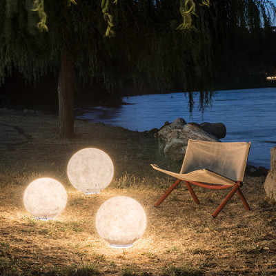 In-es.artdesign - Out Ex moon - Ex moon 35 - Outdoor floor lamp XS