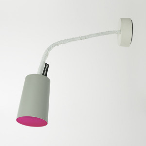 In-es.artdesign - Paint - Paint A Cemento AP - Colored wall lamp