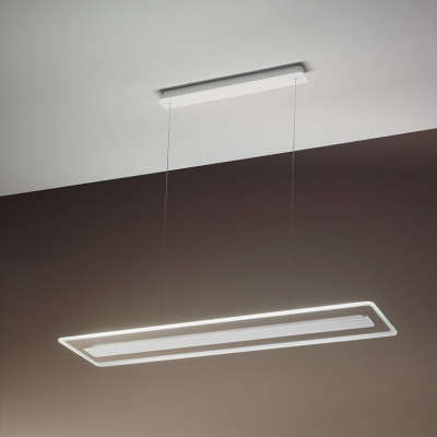 Linea Light - Antille - Antille SP LED - Chandelier with glass diffusion