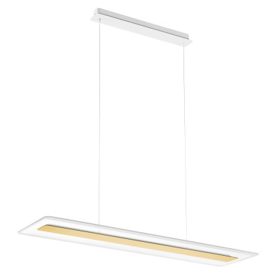 Linea Light - Antille - Antille SP LED - Chandelier with glass diffusion - Gold - LS-LL-8939 - Warm white - 3000 K - Diffused