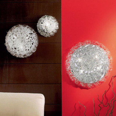 Linea Light - Artic - Artic overhead light or applique crystal L