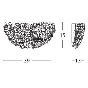 Linea Light - Artic - Artic wall lamp