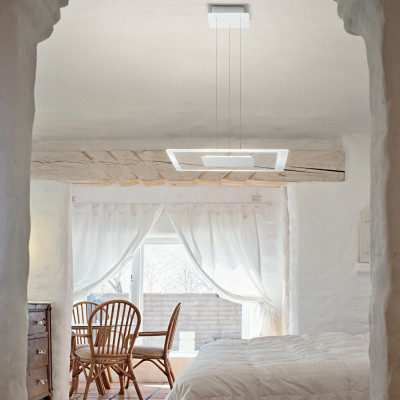Linea Light - Aruba - Aruba SP LED M - Modern square shape chandelier