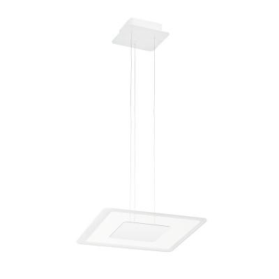 Linea Light - Aruba - Aruba SP LED M - Modern square shape chandelier  - White - LS-LL-8932 - Warm white - 3000 K - Diffused