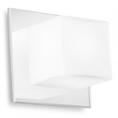 Linea Light - Bathroom lighting - Cubic wall lamp - White - LS-LL-6413