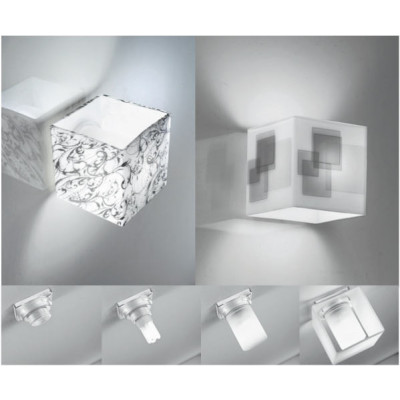 Linea Light - Bathroom lighting - Dice - Applique bathroom lighting