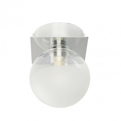 Linea Light - Boll - Boll 1 light ceiling or wall bathroom lamp - Chrome - LS-LL-5008