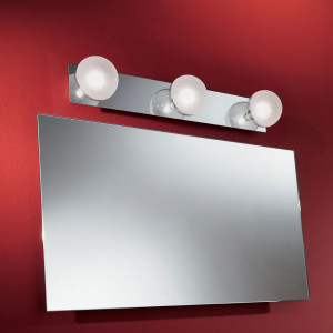 Linea Light - Boll - Boll - Wall or ceiling bathroom lamp with 3 lights