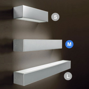 Linea Light - Box - Box M - Wall lamp double emission