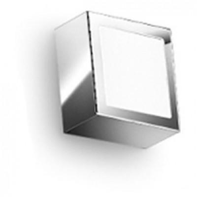 Linea Light - Box - Box - Wall /ceiling lamp S - Chrome - LS-LL-4701