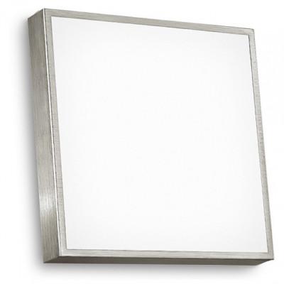 Linea Light - Box - Box - Wall /ceiling lamp S - Satin-finished nickel - LS-LL-4702