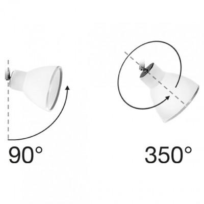Linea Light - Campana - Campana - Adjustable ceiling lamp with 3 lights