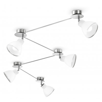 Linea Light - Campana - Campana - Adjustable ceiling lamp with 5 lights
