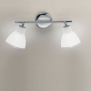 Linea Light - Campana - Campana - Adjustable wall lamp with two lights