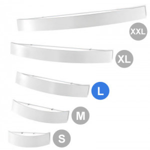 Linea Light - Curvè - Curvè wall lamp L