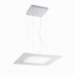 Linea Light - Dublight - Dublight LED - Square pendant lamp M