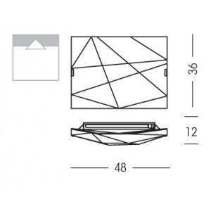 Linea Light - Face - Face - Ceiling lamp S