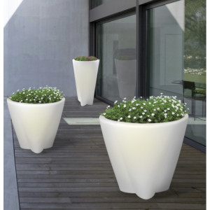 Linea Light - Flower Family - Flower Family - Outdoor lighting vase M