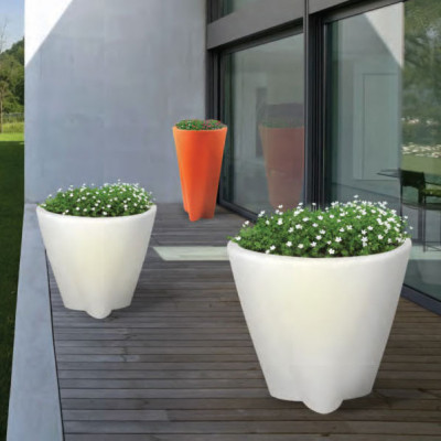 Linea Light - Flower Family - Flower Family - Outdoor luminous pot S