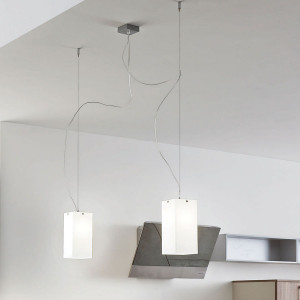 Linea Light - Gluèd - Gluèd - Pendant lamp with two lights