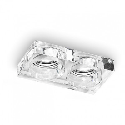 Linea Light - Incas - Incas double recessed spotlight - Transparent - LS-LL-6361
