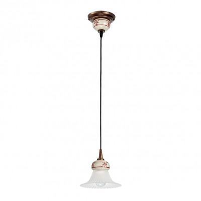 Linea Light - Mami - Mami bell-shaped diffuser pendant lamp S - Rust - LS-LL-2644