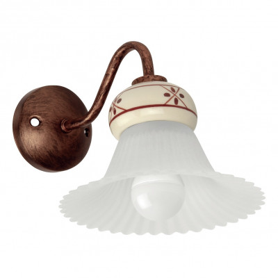Linea Light - Mami - Mami wall lamp 1x28W - Rust - LS-LL-2655
