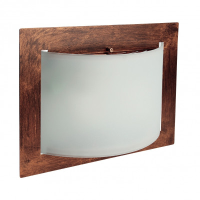 Linea Light - Met Wally - Met Wally overhead light or wall lamp L - Rust - LS-LL-576RU881