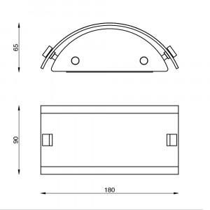 Linea Light - Mille - Mille LED AP XS - Versatile applique