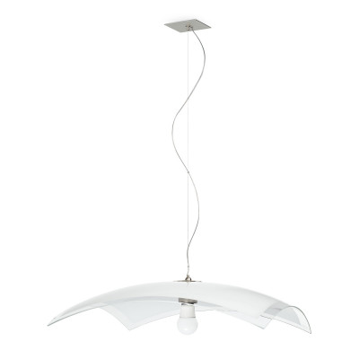 Linea Light - Mille - Mille pendant lamp M - Satin-finished nickel - LS-LL-1018