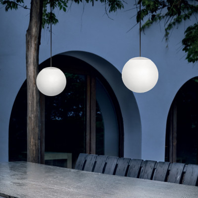 Linea Light - Oh! OUT - OH! P65 LED OUT SP XS - Spherical suspension lamp for outdoors size XS