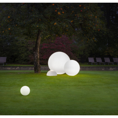 Linea Light - Oh! - Oh! - Outdoor sphere shaped floor lamp S