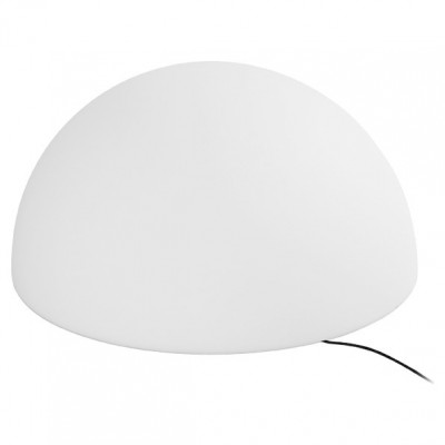 Linea Light - Ohps! - Ohps! - Half sphere shaped outdoor floor lamp S - Natural - LS-LL-15380