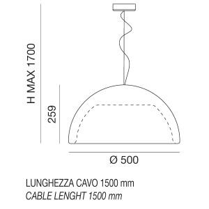 Linea Light - Ohps! - Ohps! pendant indoor S