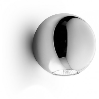 Linea Light - Pelota - Pelota - Wall lamp double emission - Chrome - LS-LL-6610