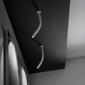 Linea Light - Snake - Snake LED - Adjustable ceiling lamp with LED light