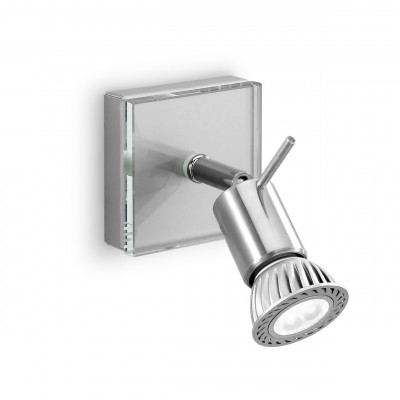 Linea Light - Spotty - Spotty adjustable halogen spotlight - Chrome - LS-LL-1150