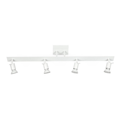 Linea Light - Spotty - Spotty - Ceiling lamp with 4 adjustable lights - White - LS-LL-7344