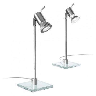 Linea Light - Spotty - Spotty table spotlight - Aluminium grey - LS-LL-1157