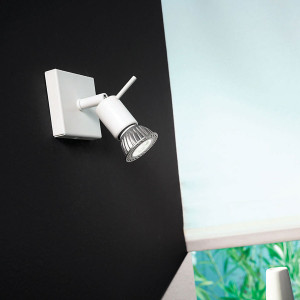 Linea Light - Spotty - Spotty - Wall or ceiling lamp with one spotlight
