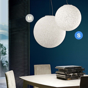Linea Light - Stardust - Stardust S SP - Suspension with spherical diffuser