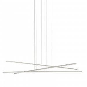 Linea Light - Straight - Straight P3 SP LED M - Chandelier with three lights size M