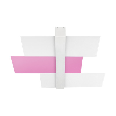 Linea Light - Triad - Triad - Ceiling lamp three glasses M - Lilac - LS-LL-90225
