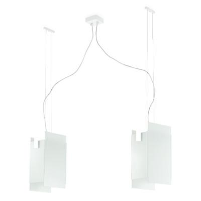 Linea Light - Triad - Triad - Pendant lamp two lights - White - LS-LL-90211