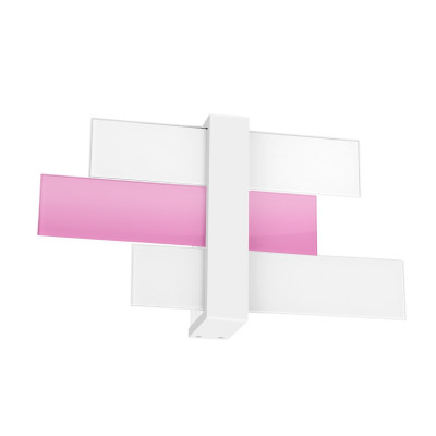 Linea Light - Triad - Triad - Wall lamp three glasses M - Lilac - LS-LL-90223