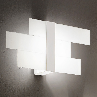Linea Light - Triad - Triad - Wall lamp three glasses M - White - LS-LL-90207