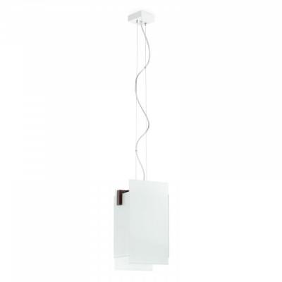Linea Light - Triad - Triad - Walnut pendant lamp