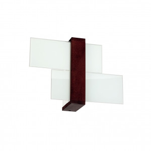 Linea Light - Triad - Triad - Walnut wall lamp S