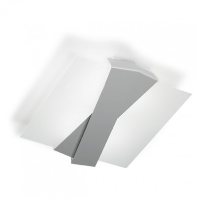 Linea Light - Zig Zag - Zig Zag - Wall or Ceiling lamp M - Anodized aluminium - LS-LL-7291