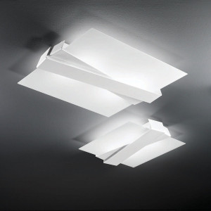Linea Light - Zig Zag - Zig Zag - Wall or Ceiling lamp M